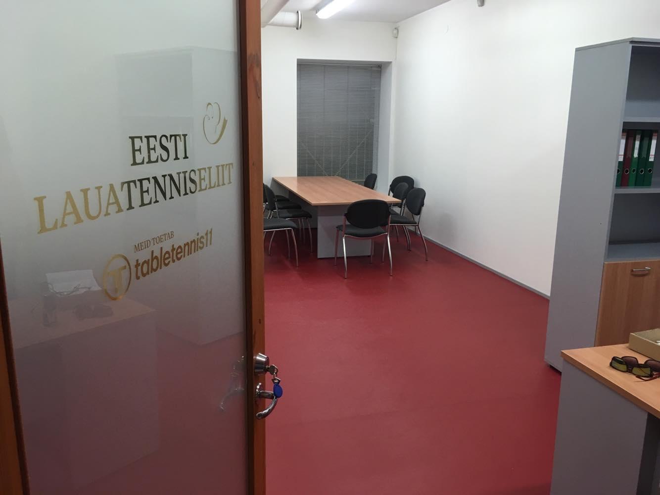 Eesti Lauatenniseliit avas kontori