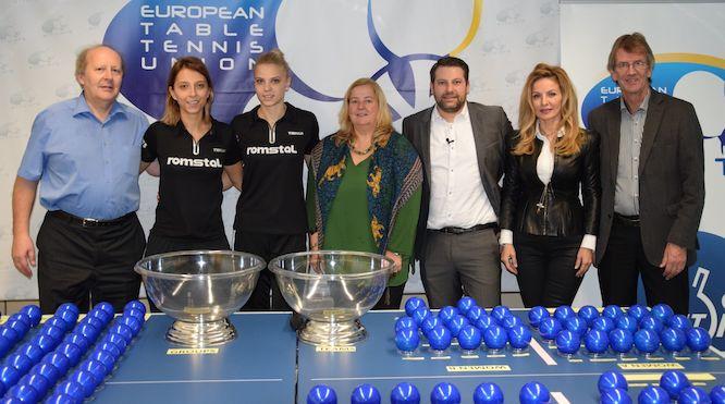 2020-2021 ITTF Euroopa Meistrivõistluste loosimise tulemused teada