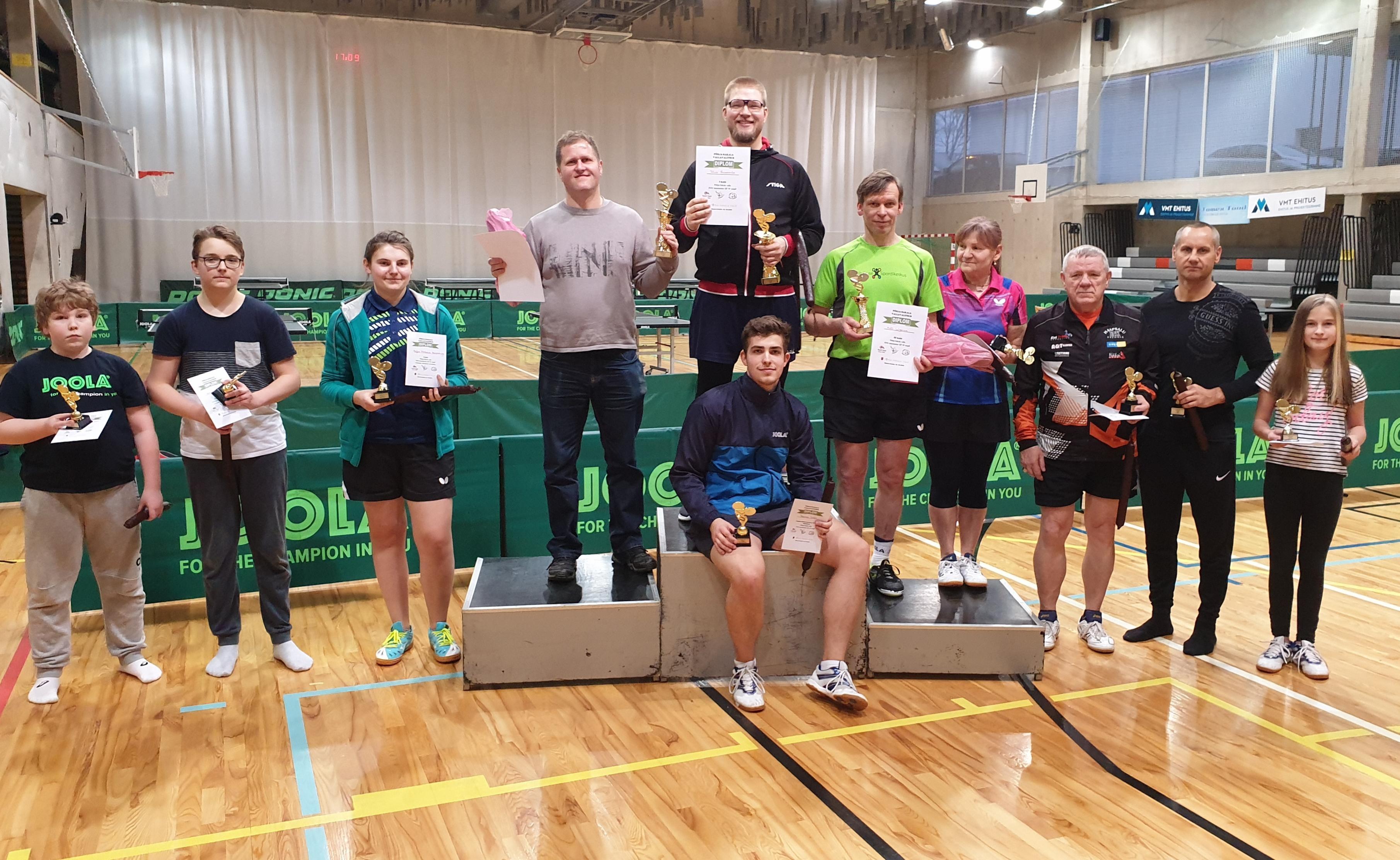 Põhja-Sakala valla karikasarja 4. etapi võitis Rivo Saaremäe!