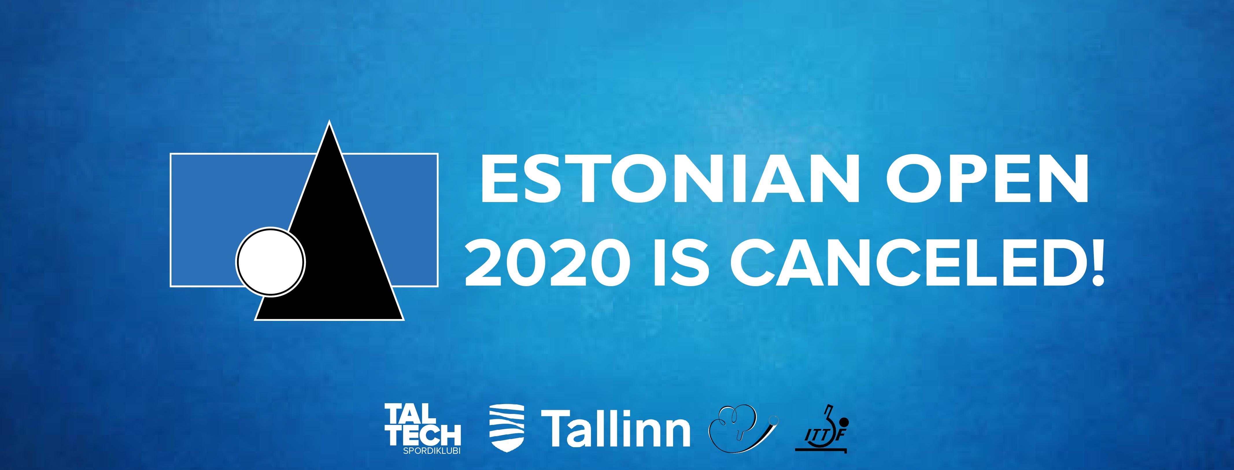 Estonian Open jääb ära