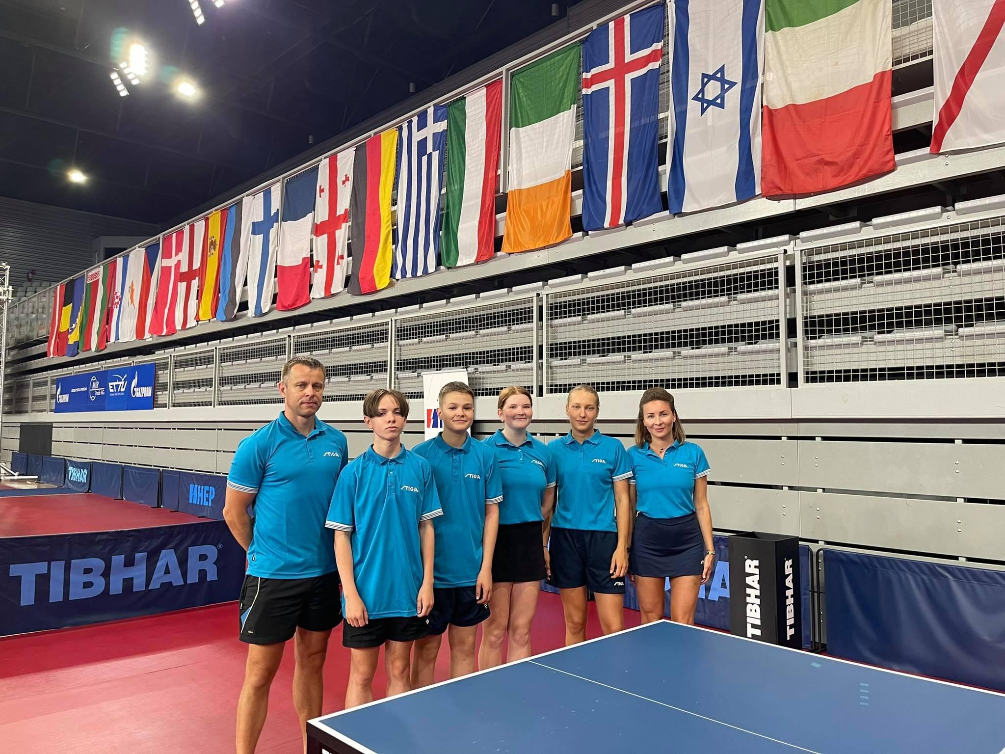 Euroopa Noorte Meistrivõistlused on lõppenud ka kadettidele